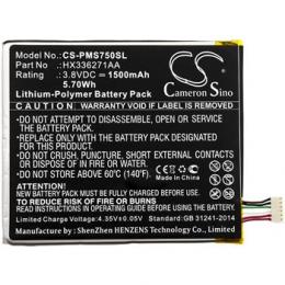 CS-PMS750SL Baterie 1500mAh Li-Pol pro Prestigio PSP7505 DUO