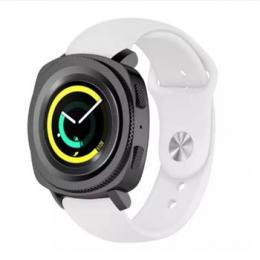 Handodo Silikonový Pásek pro Samsung Watch Gear Sport White (EU Blister)