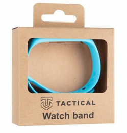 Tactical 514 Silikonový Řemínek pro Xiaomi Mi Band 3/4 Blue