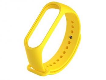 Handodo Silikonový Pásek pro Xiaomi Mi Band 3/4 Yellow (EU Blister)