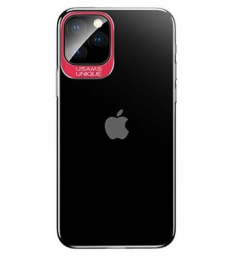 USAMS Classic Zadní Kryt pro iPhone 11 Pro Max Red