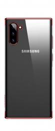 USAMS Kingdom Zadní Kryt pro Samsung Galaxy Note 10 Red