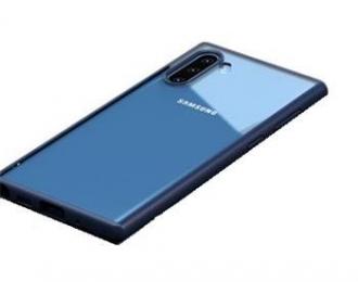 USAMS Janz Zadní Kryt pro Samsung Galaxy Note 10+ Blue