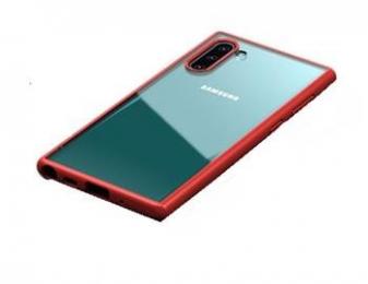 USAMS Janz Zadní Kryt pro Samsung Galaxy Note 10+ Red