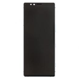 LCD Display + Dotyková Deska + Přední Kryt Gray Sony J9110 Xperia 1 (Service Pack)