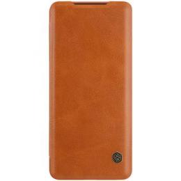 Nillkin Qin Book Pouzdro pro Samsung Galaxy S20 Ultra Brown