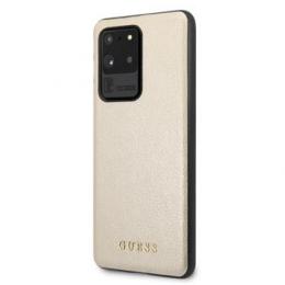 GUHCS69IGLGO Guess Iridescent Kryt pro Samsung Galaxy S20 Ultra Gold
