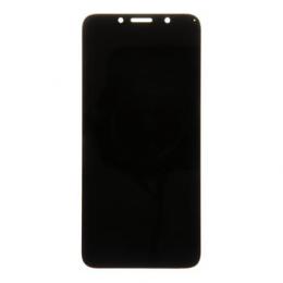 Motorola E6 Play LCD Display + Dotyková Deska Black