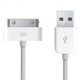 iPhone Datový Kabel White OEM (Bulk)