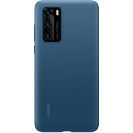 Huawei Original Silikonový Kryt pro Huawei P40 Ink Blue