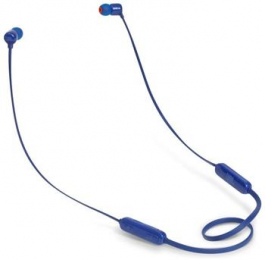 JBL T110BT In Ear Bluetooth Headset Blue (EU Blister)