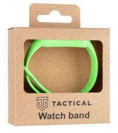 Tactical 657 Silikonový Řemínek pro Xiaomi Mi Band 5/6 green