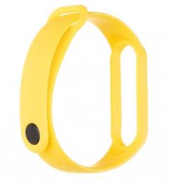 Tactical 654 Silikonový Řemínek pro Xiaomi Mi Band 5/6 Yellow