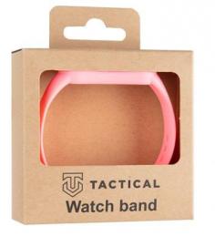 Tactical 659 Silikonový Řemínek pro Xiaomi Mi Band 5/6 Pink