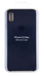 MRWG2ZM/A Apple Silikonový Kryt pro iPhone XS Max Midnight Blue