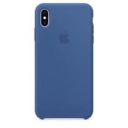 MVF62ZM/A Apple Silikonový Kryt pro iPhone XS Max Delft Blue