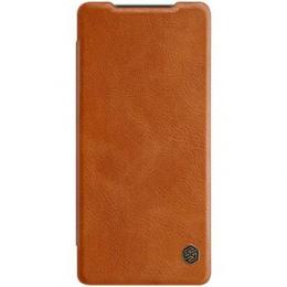 Nillkin Qin Book Pouzdro pro Samsung Galaxy Note 20 Brown