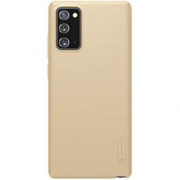 Nillkin Super Frosted Zadní Kryt pro Samsung Galaxy Note 20 Golden