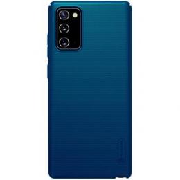 Nillkin Super Frosted Zadní Kryt pro Samsung Galaxy Note 20 Peacock Blue