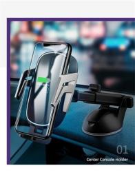 USAMS CD101 Automatic Touch Držák do Auta vč. Bezdrátového Dobíjení (Swap)