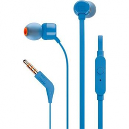 JBL T110 In-Ear Headset 3,5mm Blue