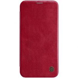 Nillkin Qin Book Pouzdro pro iPhone 12 mini 5.4 Red