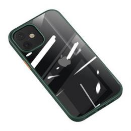 USAMS US-BH626 PC+TPU Kryt pro iPhone 12 Mini Janz Series 5.4 Dark Green