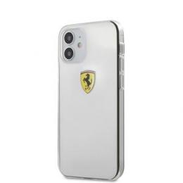 FESTRHCP12STR Ferrari On Track Logo Print Kryt pro iPhone 12 mini 5.4 Transparent