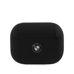 BMAPCSLBK BMW Signature Kožené Pouzdro pro Airpods Pro Black
