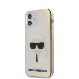 KLHCP12SPCKHML Karl Lagerfeld PC/TPU Head Kryt pro iPhone 12 mini 5.4 Iridescent