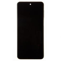 LCD Display + Dotyková Deska + Přední Kryt pro Xiaomi Redmi Note 9S White (Service Pack)