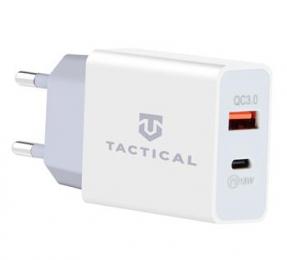 Tactical AR-PD-30W USB-A/USB-C QC 3.0 3.4A Cestovní Nabíječka White