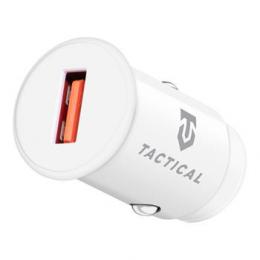 Tactical LZ-336 USB-A QC 3.0 3A Autonabíječka White