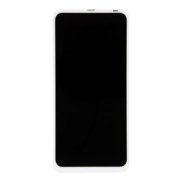 Motorola One Fusion Plus + LCD Display + Dotyková Deska + Přední Kryt White (Service Pack)