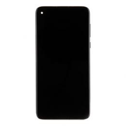 Motorola G Pro LCD Display + Dotyková Deska + Přední Kryt Black (Service Pack)