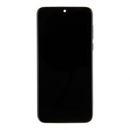 Motorola G8 Plus LCD Display + Dotyková Deska + Přední Kryt Dark Red (Service Pack)
