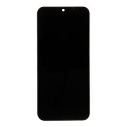 Motorola E6s LCD Display + Dotyková Deska + Přední Kryt Black (Service Pack)