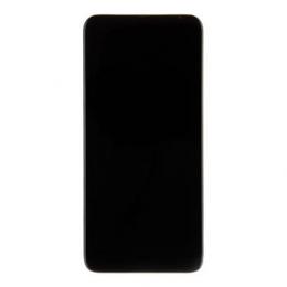Motorola One Fusion Plus + LCD Display + Dotyková Deska  + Přední Kryt Black (Service Pack)