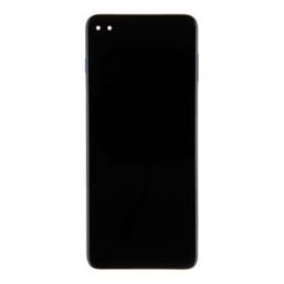 Motorola G 5G Plus LCD Display + Dotyková Deska + Přední Kryt Blue (Service Pack)