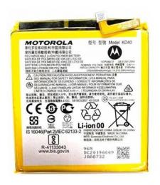 KD40 Motorola Baterie 4000mAh Li-Ion (Service Pack)