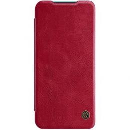 Nillkin Qin Book Pouzdro pro Xiaomi Mi 10 Lite Red