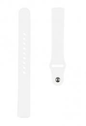 Tactical 716 Silikonový Řemínek pro Fitbit Inspire 2 White