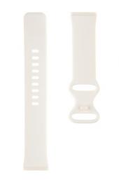Tactical 717 Silikonový Řemínek pro Fitbit Sense Beige