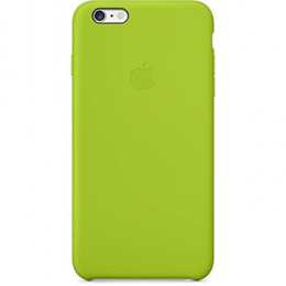 MGXX2ZM/A Apple Silicone Cover Green pro iPhone 6/6S Plus