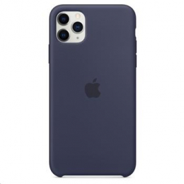 MWYW2ZM/A Apple Silikonový Kryt pro iPhone 11 Pro Max Midnight Blue