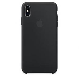 MRWE2ZM/A Apple Silikonový Kryt pro iPhone XS Max Black