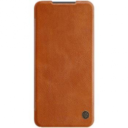 Nillkin Qin Book Pouzdro pro Xiaomi Mi 10T Lite 5G Brown