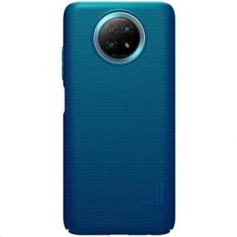 Nillkin Super Frosted Zadní Kryt pro Xiaomi Redmi Note 9T 5G Peacock Blue