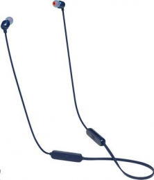 JBL Tune 115BT Bluetooth In-Ear Headphones Blue