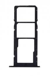 Huawei P Smart 2021 Držák SIM Karty Midnight Black (Service Pack)